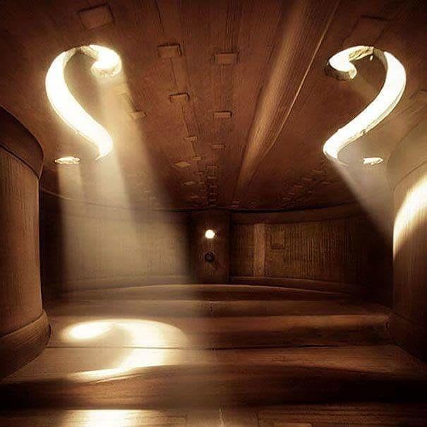 En el interior de un violín